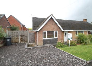 Thumbnail 1 bed semi-detached bungalow to rent in Hayes Road, Hartshill, Nuneaton