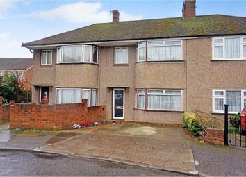 Thumbnail 3 bedroom terraced house for sale in Denton Court Road, Gravesend