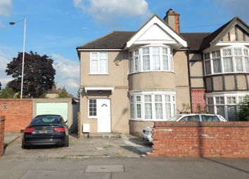 Thumbnail 3 bed semi-detached house to rent in Kenmore Avenue, Harrow