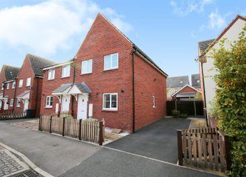 Thumbnail 3 bedroom semi-detached house for sale in James Drive, Calverton, Nottinghamshire