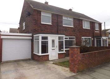 Thumbnail 3 bed semi-detached house for sale in Gainsborough Avenue, Whiteleas, South Shields, Tyne And Wear