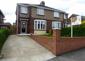 Thumbnail 3 bed semi-detached house to rent in Plawsworth Road, Sacriston, Durham