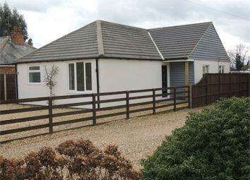 Thumbnail 3 bed detached bungalow for sale in Downham Road, Watlington, King's Lynn