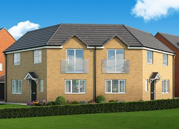 """Thumbnail 3 bed property for sale in """"The Oak"""" at Manor Way, Peterlee"""