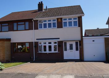 Thumbnail 3 bed semi-detached house for sale in Kirkstead Close, Belle Vue, Carlisle