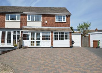 Thumbnail 3 bed semi-detached house for sale in Crail Grove, Park Farm Great Barr, Great Barr, Birmingham