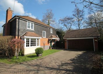 Thumbnail 4 bedroom detached house for sale in Leather Lane, Gomshall, Guildford
