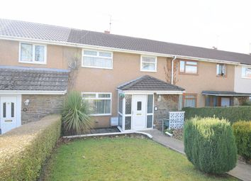 Thumbnail 3 bed terraced house for sale in Field View Road, Croesyceiliog, Cwmbran