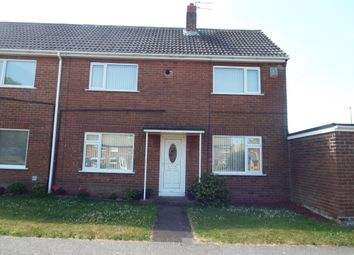 Thumbnail 2 bed semi-detached house to rent in The Brooms, Ouston, Chester Le Street