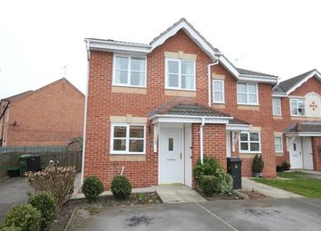 Thumbnail 2 bedroom semi-detached house to rent in Lockyer Close, York