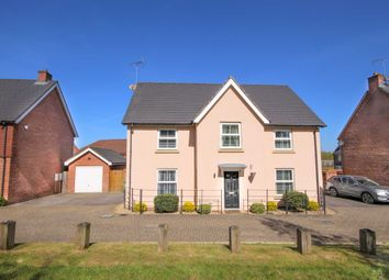 Thumbnail 4 bed detached house for sale in Green Walk, Jennett`S Park
