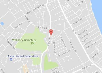 Thumbnail Studio to rent in Flat 1, 130 Rake Lane, Wallasey, Wirral