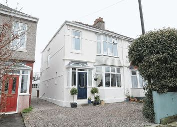 Thumbnail 4 bedroom semi-detached house for sale in Fircroft Road, Beacon Park, Plymouth