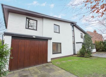 Thumbnail 4 bed detached house for sale in Wigshaw Lane, Culcheth, Warrington