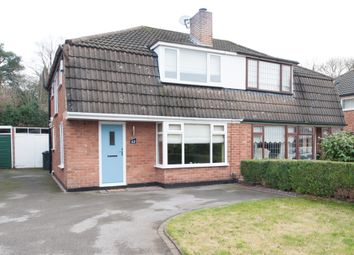 Thumbnail 3 bed semi-detached house for sale in Jerrard Drive, Sutton Coldfield