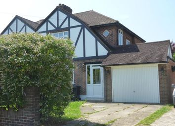 Thumbnail 3 bed semi-detached house to rent in Westways, Stoneleigh, Surrey
