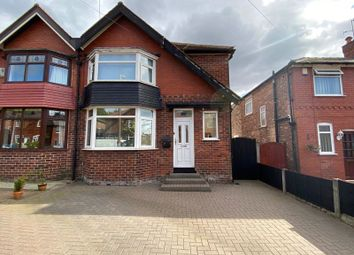 Thumbnail 3 bed semi-detached house for sale in Manor Road, South Swinton, Manchester