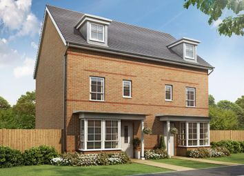 "Thumbnail 4 bed semi-detached house for sale in ""Woodbridge"" at Weddington Road, Nuneaton"