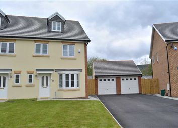 Thumbnail 4 bed semi-detached house for sale in Heol Ty Aberaman, Aberaman, Rhondda Cynon Taff
