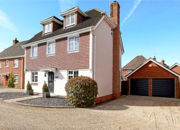 Thumbnail 5 bed detached house for sale in West Tisted Close, Fleet