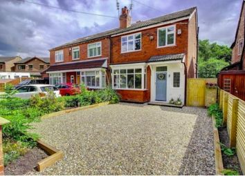 Thumbnail 3 bed semi-detached house for sale in Crossfield Grove, Woodsmoor, Stockport, Chehsire