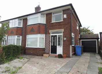 Thumbnail 3 bed semi-detached house for sale in Pennine Road, Woodley, Stockport