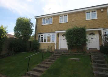 Thumbnail 4 bed end terrace house for sale in Parkway, Weybridge, Surrey