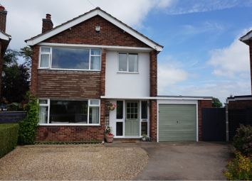 Thumbnail 3 bed detached house for sale in Burgin Close, Grantham