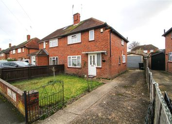 Thumbnail 2 bed semi-detached house for sale in Manor Way, Bagshot, Surrey