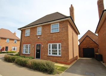 Thumbnail 4 bed detached house to rent in Clay Avenue, Stewartby, Bedford