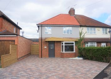Thumbnail 3 bed semi-detached house for sale in Grosvenor Crescent, Oadby