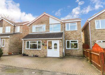 Thumbnail 4 bed detached house for sale in Worthington Close, Stilton, Peterborough, Cambridgeshire