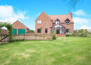 Thumbnail 4 bed detached house for sale in Swaffham Road, Oxborough, King's Lynn