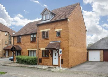 Thumbnail 4 bed semi-detached house for sale in Langport Crescent, Oakhill, Milton Keynes, Bucks