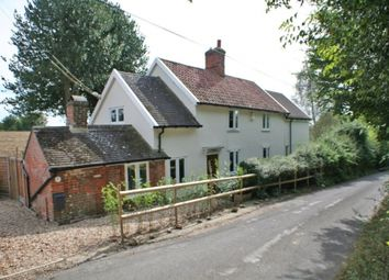 Thumbnail 4 bedroom detached house for sale in Boxted, Bury St. Edmunds