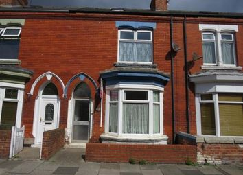 Thumbnail 2 bed terraced house for sale in Sandringham Road, Hartlepool, County Durham