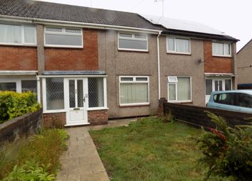 Thumbnail 3 bed terraced house to rent in Welland Crescent, Bettws, Newport