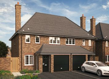 "Thumbnail 3 bed detached house for sale in ""The Potton"" at Park Crescent, Stewartby, Bedford"