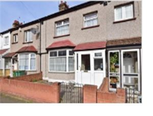 Thumbnail 6 bed terraced house for sale in Burges Road, Eastham London