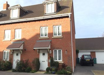 Thumbnail 4 bed end terrace house for sale in Osborne Way, Bognor Regis