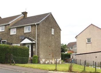 Thumbnail 2 bed end terrace house for sale in Arran Avenue, Port Glasgow