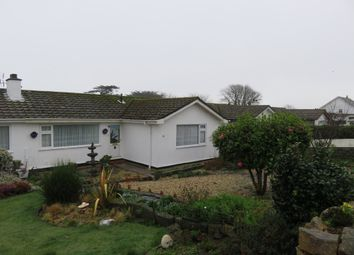 Thumbnail 2 bed semi-detached bungalow for sale in Menhyr Drive, Carbis Bay, St. Ives