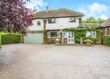 Thumbnail 4 bedroom detached house for sale in The Oval, Oadby, Leicester