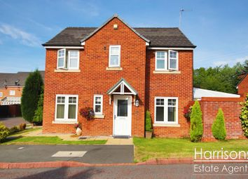 Thumbnail 3 bed detached house for sale in Gibfield Drive, Gadbury Fold, Atherton, Manchester.