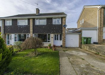 Thumbnail 3 bed semi-detached house for sale in Latham Road, Fair Oak, Eastleigh, Hampshire