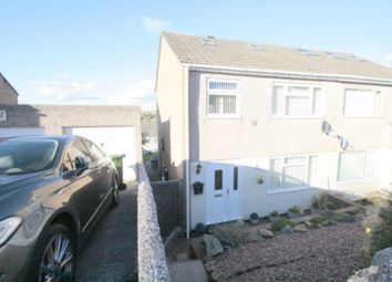 Thumbnail 3 bed semi-detached house for sale in Bellingham Crescent, Plytmpton, Plymouth