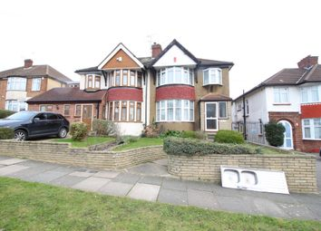 Thumbnail 4 bed semi-detached house to rent in Linden Way, Southgate