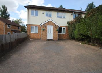 Thumbnail 4 bed semi-detached house to rent in Garrick Drive, Thornhill, Cardiff