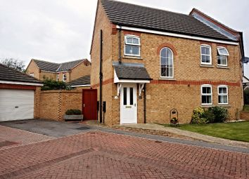 Thumbnail 3 bed semi-detached house for sale in Paddock Court, Withernsea