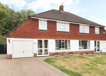 Thumbnail 3 bed semi-detached house for sale in Byrneside, Hildenborough, Tonbridge